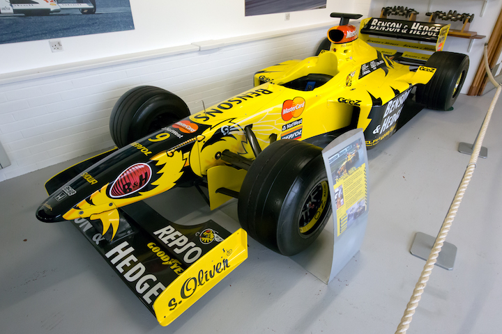 Jordan 198 front left Donington Grand Prix Collection