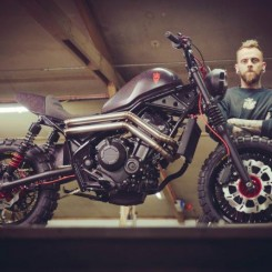 Honda Rebel customized for Bike Shed London